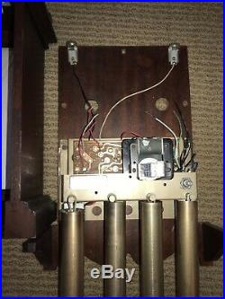 Antique 1956 Rittenhouse C8633 Telechron Westminster Chime Clock Doorbell Tested