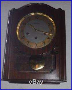 Antique 8day Reguladora Wall Clock Regulator Working Westminster Ave Maria Chime