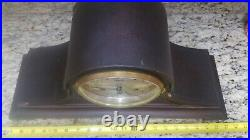 Antique Ansonia No 2 Westminster Chime Clock 5 Rod Strike Tambour Style