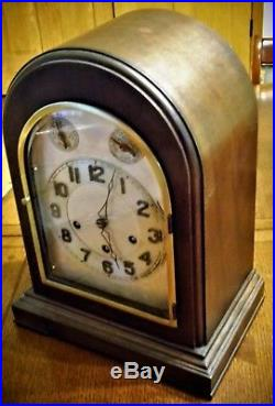 Antique Ansonia Sonia No. 5 Mantle Clock Westminster Chime Runs 8 Day 1922