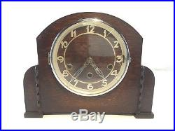 Antique B FOREIGN Westminster Chime Mantel Mantle Shelf Clock Works
