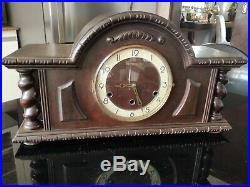 Antique French VEDETTE Westminster chime table clock