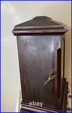 Antique German Bracket Mantel / Shelf Clock with Westminster Chimes, Kienzle Work