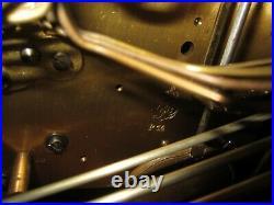 Antique German Gustav Becker P14 Quarter Hour Westminster Chime Clock 8-Day
