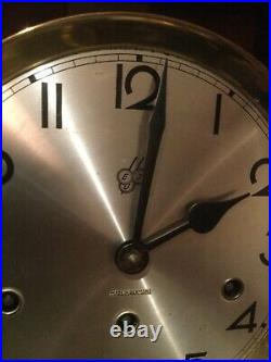 Antique German Junghans Westminster chime wall clock