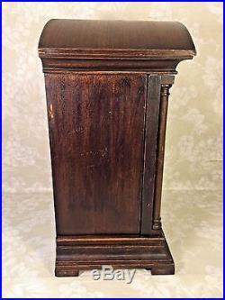 Antique Gustav Becker Bracket Clock Westminster Chimes Runs Strikes & Chimes