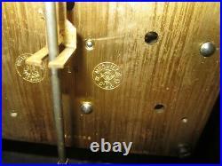 Antique Gustav Becker P18 Quarter Hour Westminster Chime Bracket Clock 8 Day