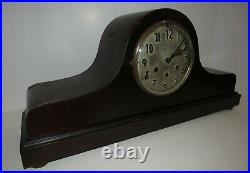 Antique Gustav Becker P18 Quarter Hour Westminster Chime Clock 8 Day, Key-wind