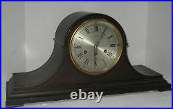 Antique Herschede Cincinnati Model 10 Mahogany Westminster Chime Clock Working