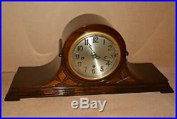 Antique Herschede Westminster Chime Mantel Clock