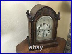 Antique Herschede Westminster Chime Mantel Clock Case #6016 Model 20 Cincinnati
