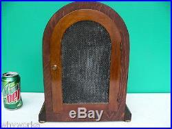 Antique JUNGHANS c1924 WESTMINSTER CHIME Bracket Mantel Chimes Clock