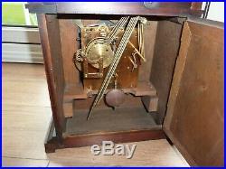 Antique Junghans 8 Day German 1919 Westminster Chime Bracket Shelf Clock