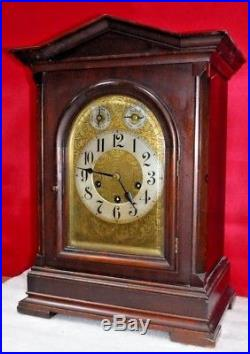 Antique Junghans A11 Westminster Chime 8 Day Bracket Cabinet Clock Working