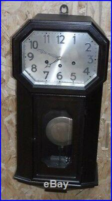 Antique Junghans Concordia Westminster Chime Wall Clock Regulator Working A26
