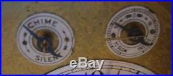 Antique Junghans German Mahogany Mantel Mantle Bracket Clock, Westminster Chimes
