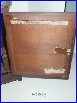 Antique Junghans Mahogany Westminster Chime Mantle Bracket Clock 1916 Gift