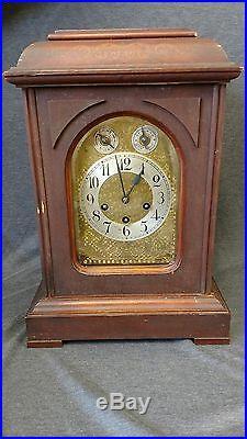 Antique Junghans Mantle Clock Westminster Chimes