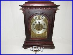Antique Junghans Quarter Hour Westminster Chime Bracket Clock 8 Day, Key-wind