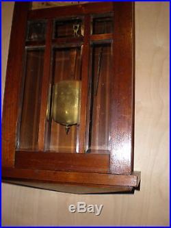 Antique-Junghans-Westminster Chime-Box Regulator Clock-Ca. 1910-To Restore-#N641