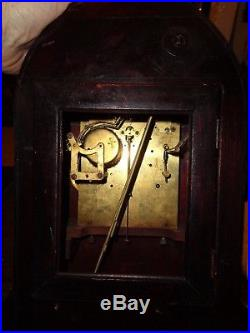 Antique-Junghans-Westminster Chime-Mantle Clock-Ca. 1915-To Restore-#P920