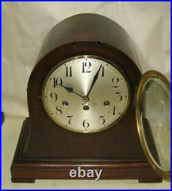 Antique Junghans Wurttemberg 8 Day Westminster Chime Bracket Clock #215 Working