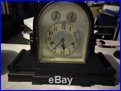 Antique Junghans Wurttemberg Mantle Clock Westminster Chime German
