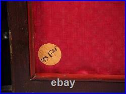 Antique KIENZLE Clock Mahogany Westminster Chime Mantel Shelf WORKS