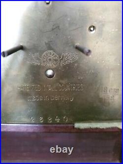 Antique Kienzle Bracket Mantel / Shelf Clock with Westminster Chimes German