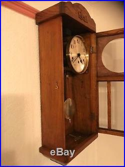 Antique Kienzle Foreign German Westminster Carillon Wall Clock