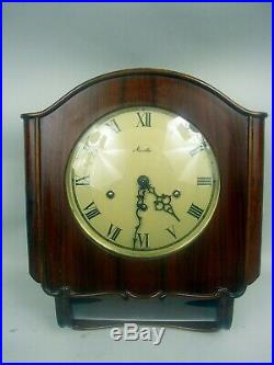 Antique Mauthe Westminster Chiming Wall Clock