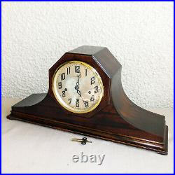 Antique New Haven Lincoln Mantle Clock Westminster Chime