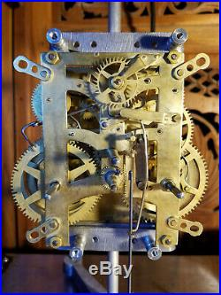 Antique New Haven Wilcock Patent Westminster Chime Clock