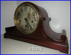 Antique Peerless Limited Quarter Hour Westminster Chime Clock With5 Gongs RARE