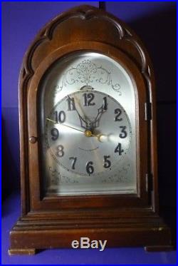 Antique Revere Telechron Mantel Clock Electric Westminster Chime Works