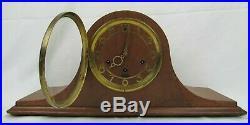 Antique SETH THOMAS MANTEL CLOCK 8-day art deco Medbury 4w WESTMINSTER CHIMES