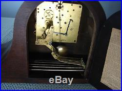 Antique SETH THOMAS Shelf 8-Day Mantle Clock Westminster Chime No. 124 Movement
