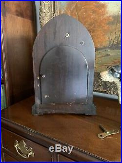 Antique Seth Thomas #72 Cathedral Westminster Chime Beehive Clock Working