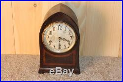 Antique Seth Thomas Beehive Style Westminster Chime Clock