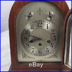 Antique Seth Thomas Mahogany Westminster Chime Clock No. 72