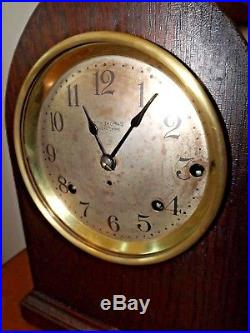 Antique Seth Thomas SONORA 5 Bell Westminster Chime Table Clock Pro Serviced