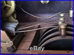 Antique Seth Thomas Sonora 4 Bell Clock Quarter Hour Chime 8 Day Westminster