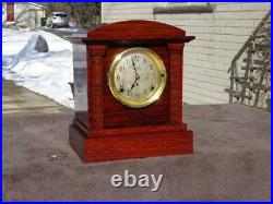 Antique Seth Thomas Sonora Westminster Chime Shelf Mantle Clock Runs Restore