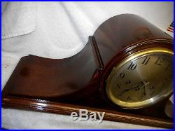 Antique Seth Thomas Westminster Chime 75 Mantle Clock 113 Movement Running