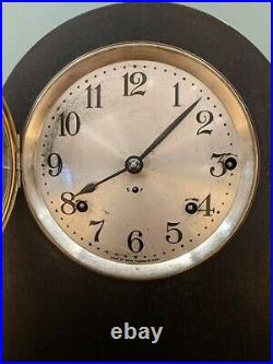 Antique Seth Thomas Westminster Chime Bracket Clock Runs And Strikes