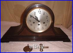Antique Seth Thomas Westminster Chime Mantle Clock #113 #80 Tambour Working