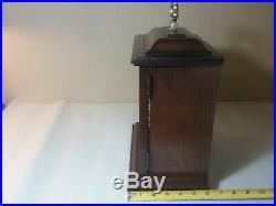 Antique Vintage Howard Miller Mantle Case Clock Two (2) Jewel Westminster Chime