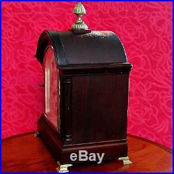 Antique Vintage Junghans Wurttemberg Bracket Mantle Clock, Westminster Chimes