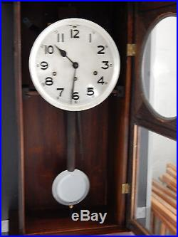 Antique Wall Clock, Westminster Chime & Whitting Chime