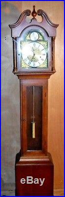 Antique Wanamaker Philadelphia Westminster Chime Grandmother Clock Working
